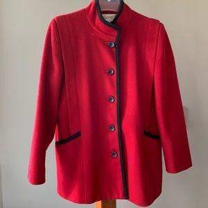 Vintage Bert Newman Young Impressions  Wool Coat